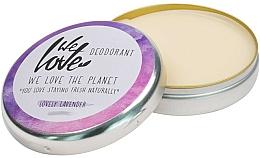 Perfumería y cosmética Desodorante crema natural con aceite de lavanda - We Love The Planet Deodorant Lovely Lavender