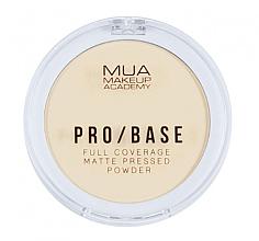Perfumería y cosmética Polvo facial prensado mate - MUA Pro-Base Full Coverage Matte Pressed Powder