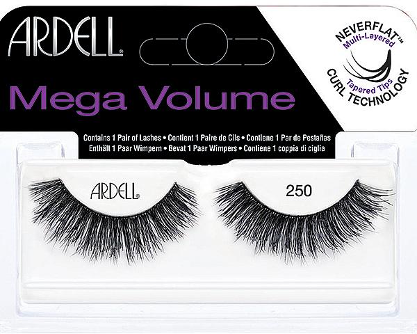 Pestañas postizas - Ardell Eyelashes Mega Volume 250 — imagen N1