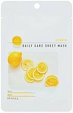 Perfumería y cosmética Mascarilla facial en hoja con vitamina B5 - Eunyu Daily Care Sheet Mask Vitamin