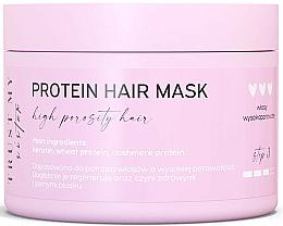 Perfumería y cosmética Mascarilla para cabello de porocidad alta con proteína de trigo y queratina - Trust My Sister High Porosity Hair Protein Mask