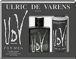Perfumería y cosmética Ulric de Varens UDV - Set (eau de toilette/100ml + desodorante perfumado/200ml)