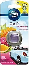 Perfumería y cosmética Ambientador de coche con aroma a frutas tropicales - Ambi Pur