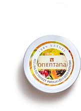 Perfumería y cosmética Exfoliante facial cremoso con extracto de papaya y ginseng - Orientana Natural Cream Face Scrub Papaya