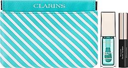 Perfumería y cosmética Set de maquillaje (aceite labial/7ml + máscara de pestañas/3,5ml + neceser cosmético) - Clarins Candy Box Mint