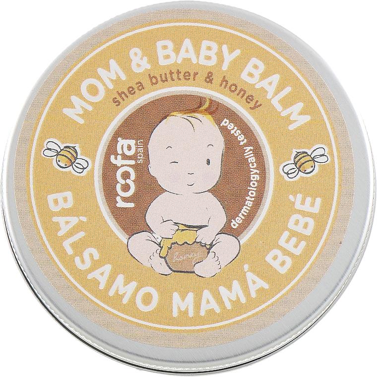 Bálsamo hidratante para mamá y bebé con manteca de karité y miel - Roofa Shea Butter & Honey Mom & Baby Balm