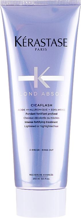 Tratamiento reconstructor intensivo para cabellos teñidos o con mechas - Kerastase Blond Absolu Cicaflash Conditioner