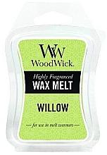Perfumería y cosmética Cera para lámparas aromáticas, sauce - WoodWick Wax Melt Willow