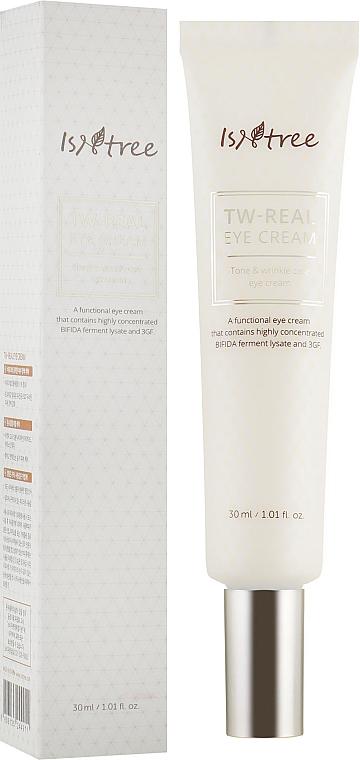Crema nutritiva para contorno de ojos con manteca de karité y aceite de mango - IsNtree TW-Real Eye Cream