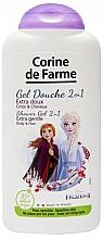 Perfumería y cosmética Champú & gel de ducha para piel sensible con 95% de ingredientes de origen natural - Corine de Farme Frozen