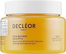 Perfumería y cosmética Bálsamo corporal reparador relajante con aceite esencial de eucalipto - Decleor Cica-Botanic Eucalyptus Relieving Repairing Body Balm