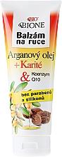 Perfumería y cosmética Bálsamo para manos con aceite de argán - Bione Cosmetics Argan Oil Hand Ointment