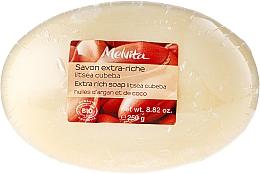 Perfumería y cosmética Jabón orgánico con aceite de argán & coco para pieles secas y sensibles - Melvita Extra-Rich Soap
