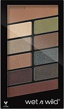 Perfumería y cosmética Paleta de sombras de ojos, 10 colores - Wet N Wild Color Icon 10 Pan Palette