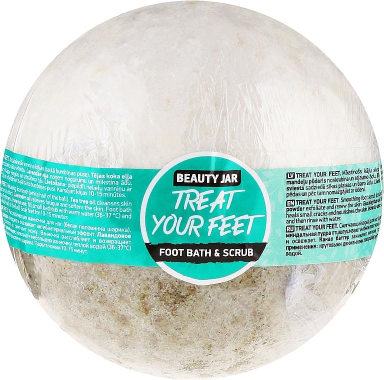 Bomba de baño para pies - Beauty Jar Treat Your Feet Foot Bath&Scrub