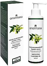 Perfumería y cosmética Aceite desmaquillante resistente al agua de neem 100% natural - Orientana Nourishing Cleansing Oil For Face & Eyes Neem