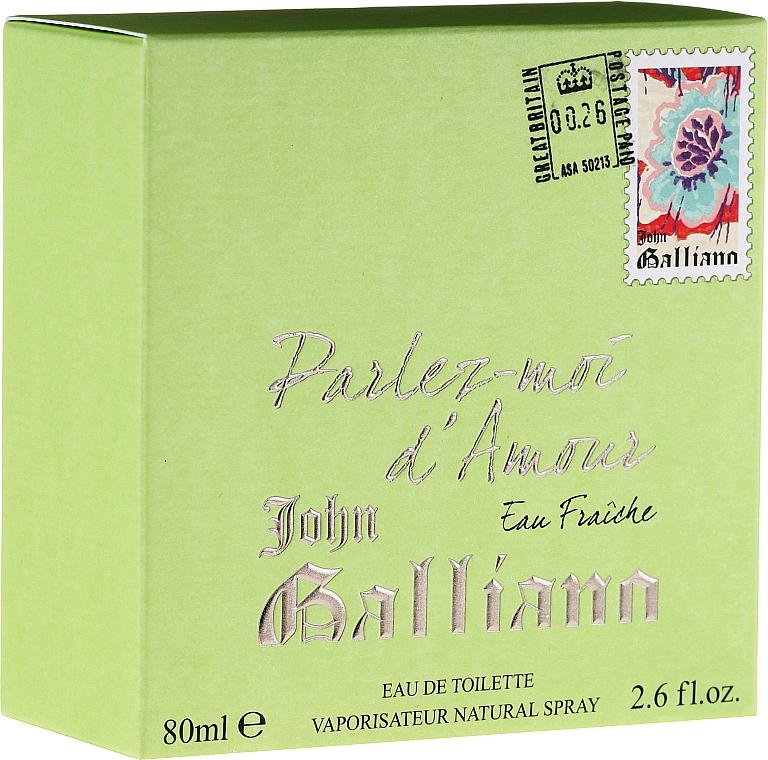 John Galliano Parlez-Moi d'Amour Eau Fraiche - Eau de toilette — imagen N1