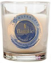 Perfumería y cosmética Vela perfumada de soja con aceite esencial de mejorana y lavanda - Flagolie Fragranced Candle Rest Sleep