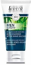 Perfumería y cosmética Bálsamo aftershave calmante con bambú y aloe vera - Lavera Men Sensitiv Beruhigender After Shave Balsam