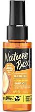 Perfumería y cosmética Aceite para cabello de argán prensado, eco - Nature Box Argan Oil Nourishing Hair Oil