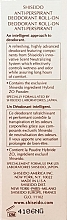 Desodorante roll-on antitranspirante - Shiseido Anti-Perspirant Deodorant Roll-On  — imagen N4