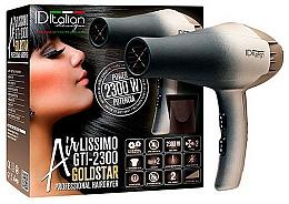 Perfumería y cosmética Secador de pelo - Iditalian Airlissimo GTI 2300 Gold Star