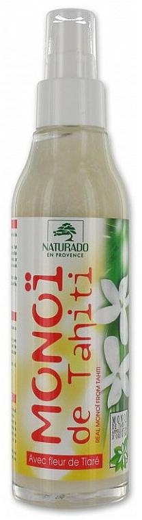 Aceite corporal de flor de Tahití orgánico - Naturado Veritable Oil Monoi de Tahit — imagen N1
