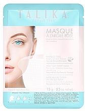 Perfumería y cosmética Mascarilla facial de tejido con arcilla rosa - Talika Pink Clay Mask