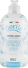 Perfumería y cosmética Jabón de manos líquido de talco - Parisienne Italia Fiorile Cuddles Of Talc Liquid Soap
