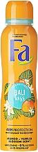 Desodorante antitranspirante con aroma a mango y vainilla - Fa Bali Kiss Deodorant — imagen N1