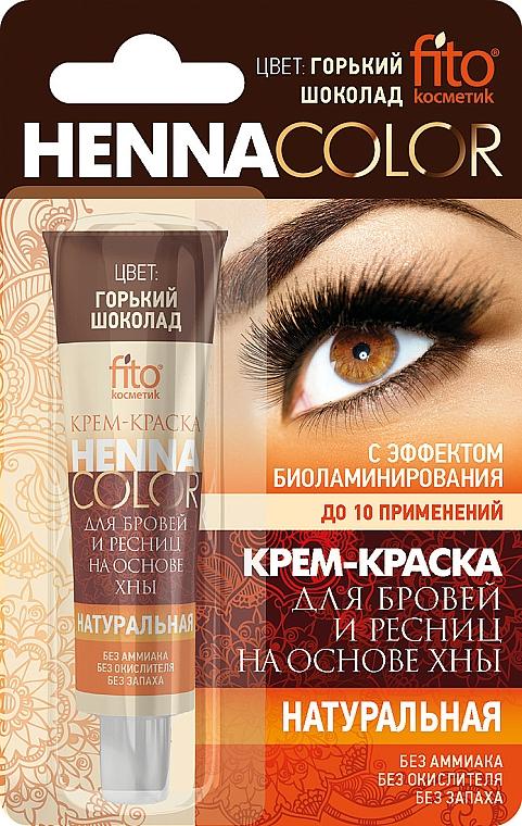 Henna para cejas y pestañas - Fito Cosmetic henna color