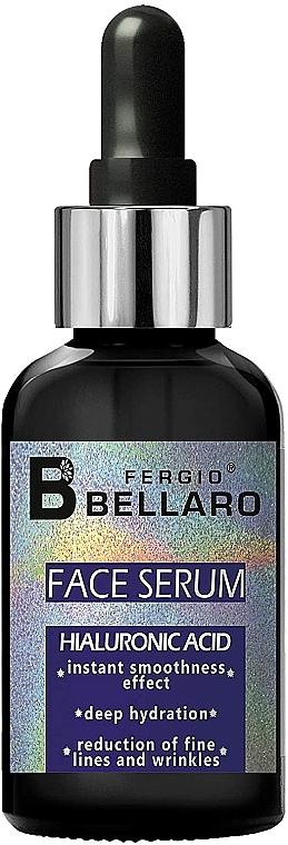 Sérum facial suavizante con ácido hialurónico - Fergio Bellaro Face Serum Hyaluronic Acid