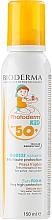 Perfumería y cosmética Mousse protector solar para pieles delicadas de niños, resistente al agua SPF 50+ - Bioderma Photoderm KiD Mousse SPF 50+