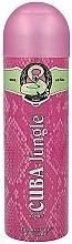 Perfumería y cosmética Cuba Jungle Snake - Desodorante spray