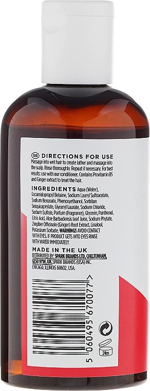 Champú con extracto de jengibre, aroma a elemi y ginseng - Hawkins & Brimble Elemi & Ginseng Shampoo — imagen N2