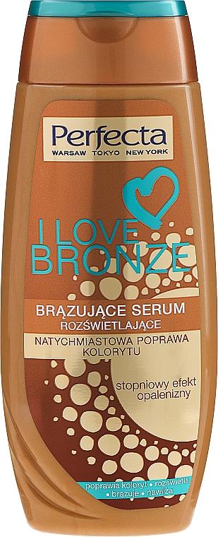 Sérum bronceador con partículas de oro - Perfecta I Love Bronze Serum