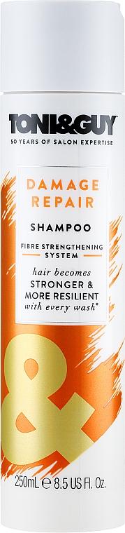 Champú reparador para cabello con glicerina - Toni & Guy Cleanse Damaged Hair Shampoo — imagen N1