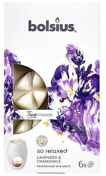 Cera aromática, lavanda y camomila - Bolsius True Moods So Relaxed Lavender & Chamomile
