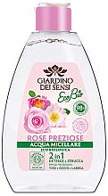 Perfumería y cosmética Agua micelar para rostro, ojos y labios de rosa damascena, gallica y canina - Giardino Dei Sensi Rose Micellar Water