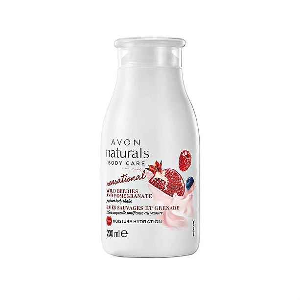 Loción corporal con extracto de granada y arándano - Avon Naturals Body Lotion