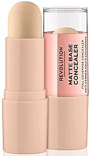 Perfumería y cosmética Corrector de maquillaje matificante en barra - Makeup Revolution Matte Base Concealer