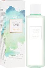 Perfumería y cosmética Tónico facial refrescante con agua de rosa damascena, aceite de lavanda y árbol de té, pH 5,5 - Heimish Refresh Water Clean Up Peeling Water