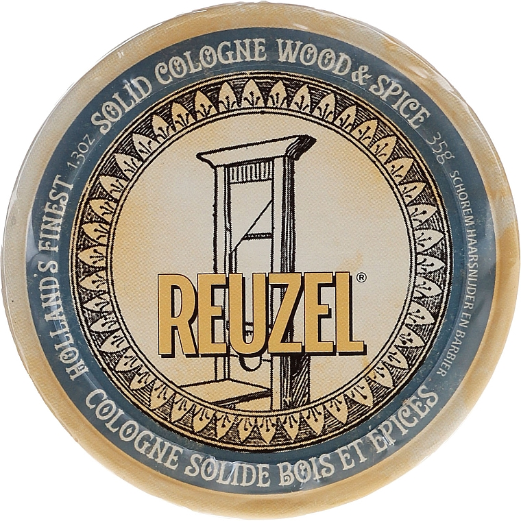 Colonia sólida aftershave - Reuzel Wood & Spice Solid Cologne Balm