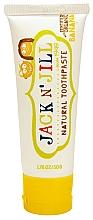 Perfumería y cosmética Pasta dental infantil con extracto de caléndula, sabor a plátano - Jack N' Jill