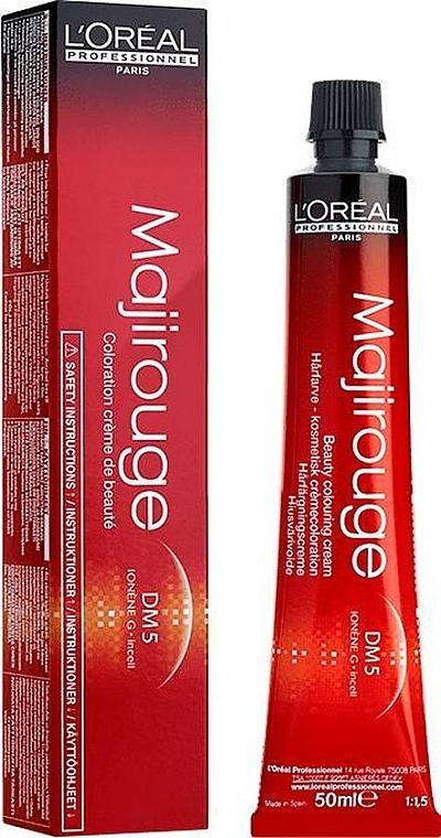Tinte permanente para cabello (no incluye oxidante) - L'Oreal Professionnel Majirouge DM5 — imagen N1