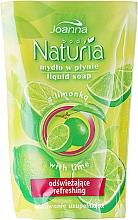 Perfumería y cosmética Jabón de manos líquido con extracto de lima (recarga doypack) - Joanna Naturia Body Lime Liquid Soap