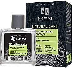 Perfumería y cosmética Loción aftershave hipoalergénica con jugo de aloe vera - AA Men Natural Care Sooting After-Shave Lotion