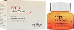 Perfumería y cosmética Crema facial iluminadora con agua de limón, extracto de arándano y mora - The Skin House Vital Bright Cream