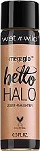Perfumería y cosmética Iluminador facial líquido hidratante - Wet N Wild MegaGlo Hello Halo Liquid Highlighter