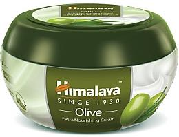 Perfumería y cosmética Crema corporal nutritiva con aceite de oliva - Himalaya Herbals Olive Extra Nourishing Cream